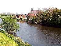 River Trent at Shardlow, Derbyshire